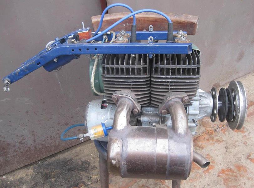 Как сделать двигатель на иж 4